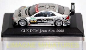 MERCEDES-BENZ-CLK-DTM-JEAN-ALESI-de-2005-echelle-1-43-Voitures-de-legende