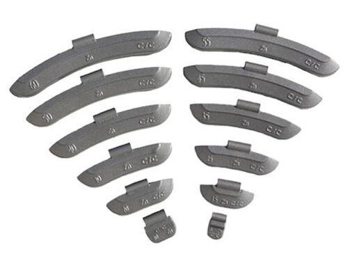 600 x Schlaggewichte Sortiment 5-50g Zinkgewichte Auswuchtgewichte Stahlfelge