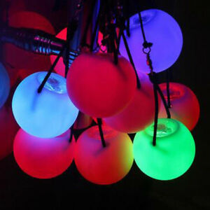 Pro-LED-Multi-Colour-Glow-POI-Thrown-Ball-Light-up-For-Belly-Dance-Hand-Prop