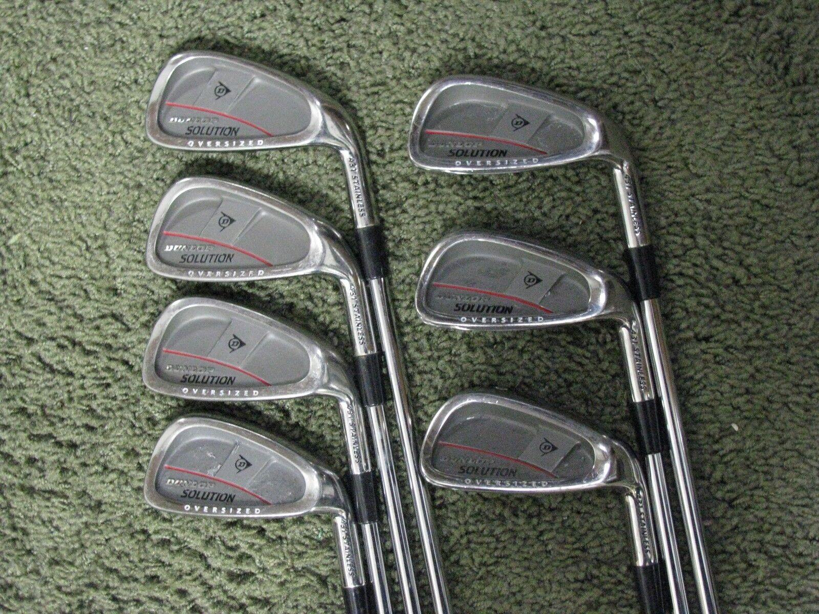 Dunlop soluciones de gran tamaño de hierros 4-PW regular Flex Acero Muy Bonito