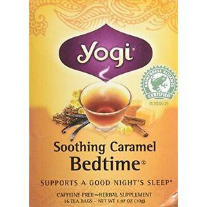 Yogi-Tea-Herbal-tea-Soothing-Caramel-Bedtime-Pack-of-2