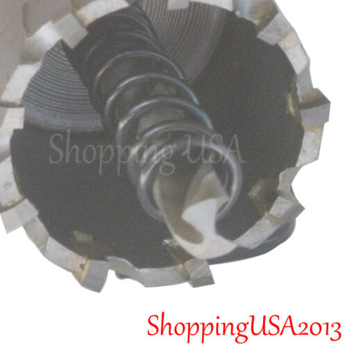 All Size Stainless Steel Carbide Tipped Drill Bit Alloy Hole Saw Cutter Long*