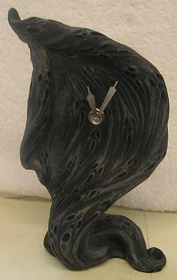 Nemesis Now DARK GREY SPIRIT OF TIME FREE STANDING CLOCK  PAGAN WICCAN SPIRITUAL