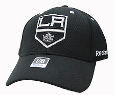 LOS ANGELES KINGS REEBOK M546Z STRUCTURED STRETCH FIT NHL HOCKEY CAP HAT  L/XL