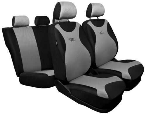 black//silver Car seat covers fit Kia Sorento full set