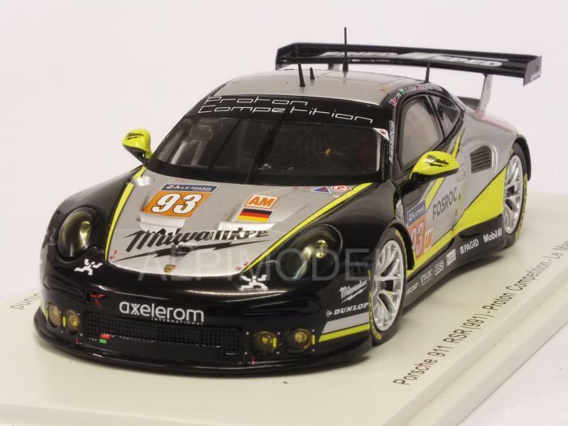 Porsche 911 RSR Le Mans 2017 Long - Al Faisal - Hedlund 1 43 SPARK S5842