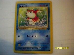 Goldeen 53//64 Common Pokemon Card Jungle Set Wizards of the Coast 1999
