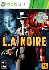 L.A. Noire Xbox 360 Brand New Factory Sealed Fast Shipping
