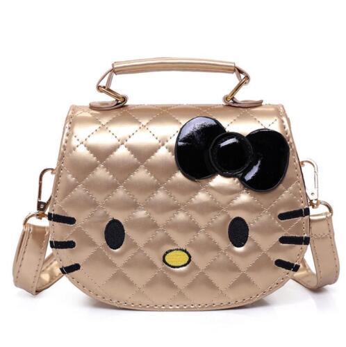 New Hello Kitty Messenger Bag For Girls Women Fashion Mini Bag Handbag Cartoon
