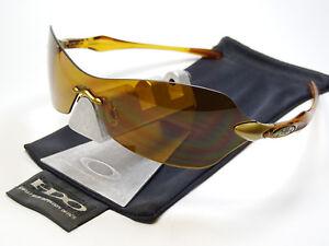Oakley-Dartboard-Honey-Bronze-Sonnenbrille-Zero-Radar-Conduct-M-Frame-Shocktube