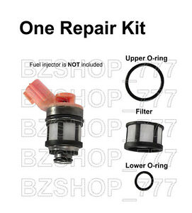 Fuel Injector Repair Kit Filters Upper /& Lower Oring for Nissan Altima Sentra