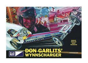 MPC 810 1/25 Don Garlits Wynnscharger Rail Dragster Plastic Model Kit