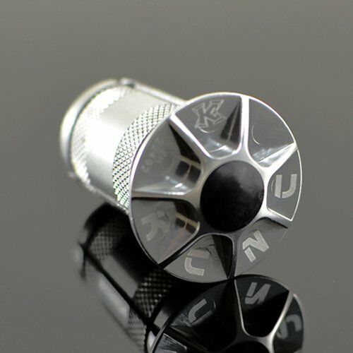 """KCNC 1-1//8/"""" Alloy Expander With Cap Silver"""