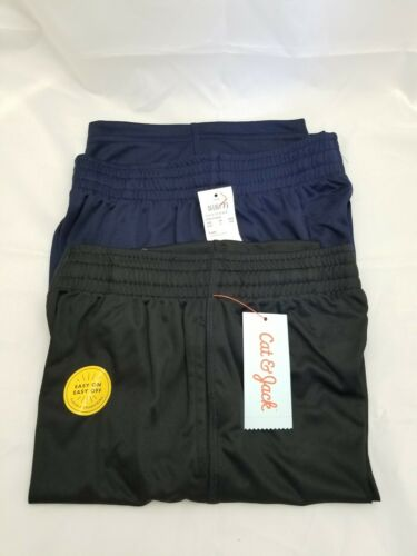 Cat /& Jack 2-Pack Elastic Waist w// Drawstring Athletic Shorts Boys Size S 6//7