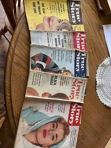 Lot (5)Vintage [1959-1969] TRUE STORY Women's Magazines Drama Romance