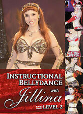 NEW SEALED Instructional Bellydance With Jillina - Level Two (DVD, 2004)