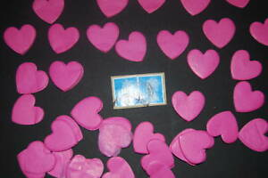 Wedding CONFETTI 1000 Love Hearts Bio Degradable 4 pack - NOW UK Post Free