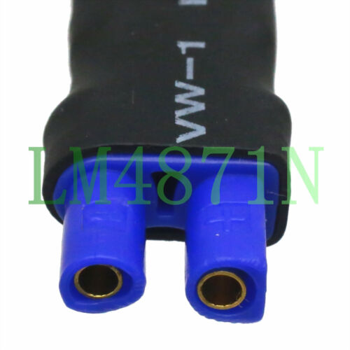 XT30 Male to EC2 Female connector Adapter for RC Turnigy Drone FPV Lipo 2S 3S 4S