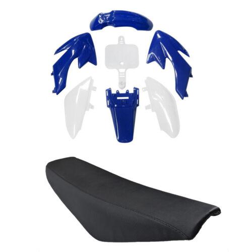 Plastic Fender Kit Tall Seat for Honda CRF50 XR50 125CC SSR 110cc Dirt Bike US