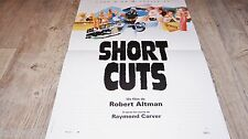 SHORT CUTS  !  affiche cinema bd dessin peellaert