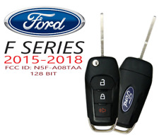 New 2015 2016 2017 2018 2019 Ford F150 F250 F350 Remote Flip Key Fob N5f A08taa Fits Ford