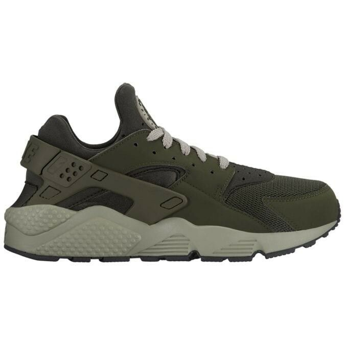 Nike Men's Air Huarache Run Running shoes, Sequoia Dark Stucco, 318429 311, Sz 10