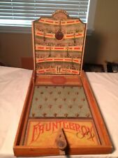 Antique American? Fauntleroy  Wooden  Parlor Board Game  Action Skill  1800's