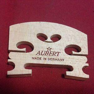 Ebony U Shaped Insert 9145-44 Aubert Teller Semi Fitted 4//4 Violin Bridge w