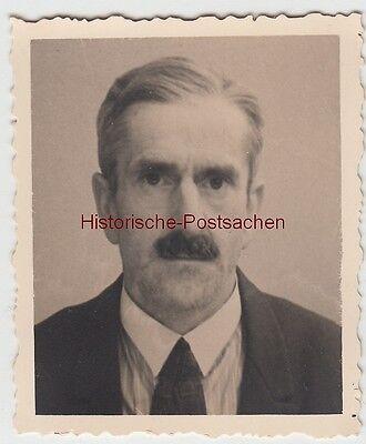 (f12885) Orig. Foto Porträt Eines Mannes, Chemnitz 1930er Zu Hohes Ansehen Zu Hause Und Im Ausland GenießEn