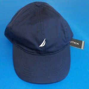 669139b5 Nautica Women's Baseball Cap Hat One Size Adjustable Navy Blue White ...