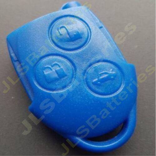 FORD TRANSIT MK7 BLUE KEY FOB REMOTE BATTERY VL2330 /& NEW REMOTE CASE