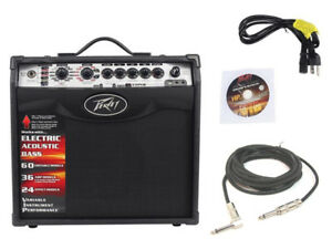 New-Peavey-Vypyr-Vip1-Combo-Amp-8-034-Modeling-Guitar-20W-Amplifier-W-1-4-034-Cable