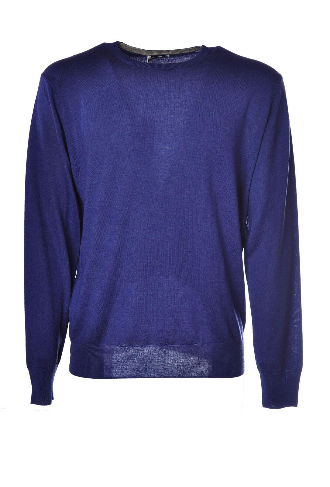 Heritage - Knitwear-Sweaters - Man - Blau - 1978223N184847