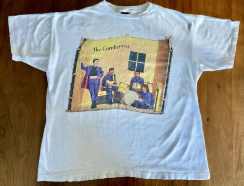 The Cranberries Vintage Concert T Shirt - Free To