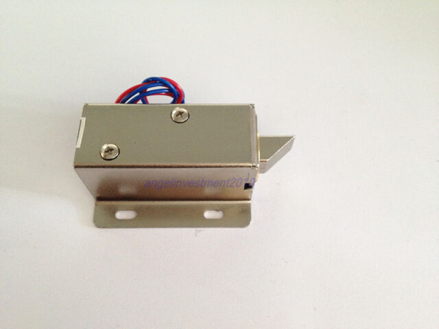 New Cabinet Door Electric Lock Assembly Solenoid DC 12V 1.5A