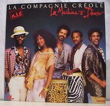 """33 tours COMPAGNIE CREOLE Créole Vinyle LP 12"""" MACHINE A DANSER - CARRERE 66.453"""