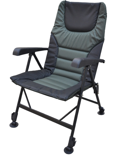 JENZI Karpfenstuhl Ground Contact Deluxe Chair Camping Camping Chair c236bc