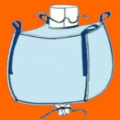 1000kg Traglast ☀️ ☀️ 5 Stück BIG BAG 100 x 90 x 90 cm Bags BIGBAG Fibc FIBCS