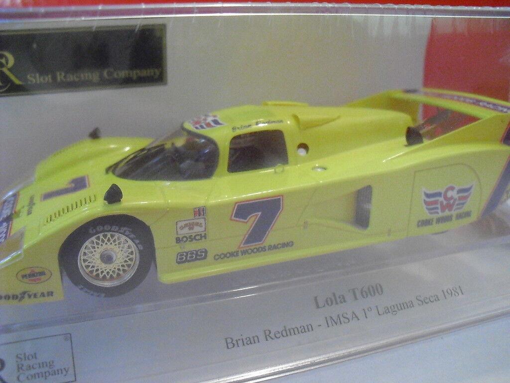 SRC Lola T600 1ª Laguna Seca New 1 32 rif. 01703 Ed. Limitato a 1020 unità