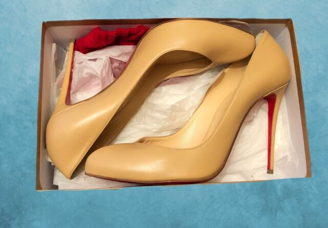 731fc206977 Christian Louboutin Size 8 High Heels 100% Genuine Red Bottoms