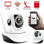Wireless 720P Pan Tilt Network Security CCTV IP Camera Night Vision WiFi ONVIF