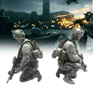 1-35-Resin-Soldier-USA-Navy-Seal-Assault-Team-Military-Kit-Figure-Model-SII-C7W3