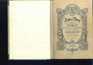 Schubert-Album-Sammlung-der-Lieder-Band-1-gebunden