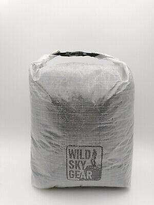 Wild Sky Gear DCF Cubenfiber talldyneema Dry Bag Ultralight 19g fits tents