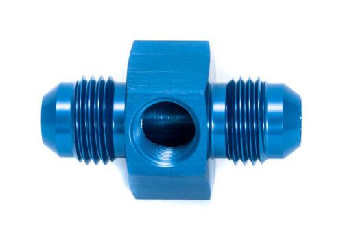 an6 jic6 Capteur Adaptateur Dash 06 m10x1,0 Bleu 9//16-18unf
