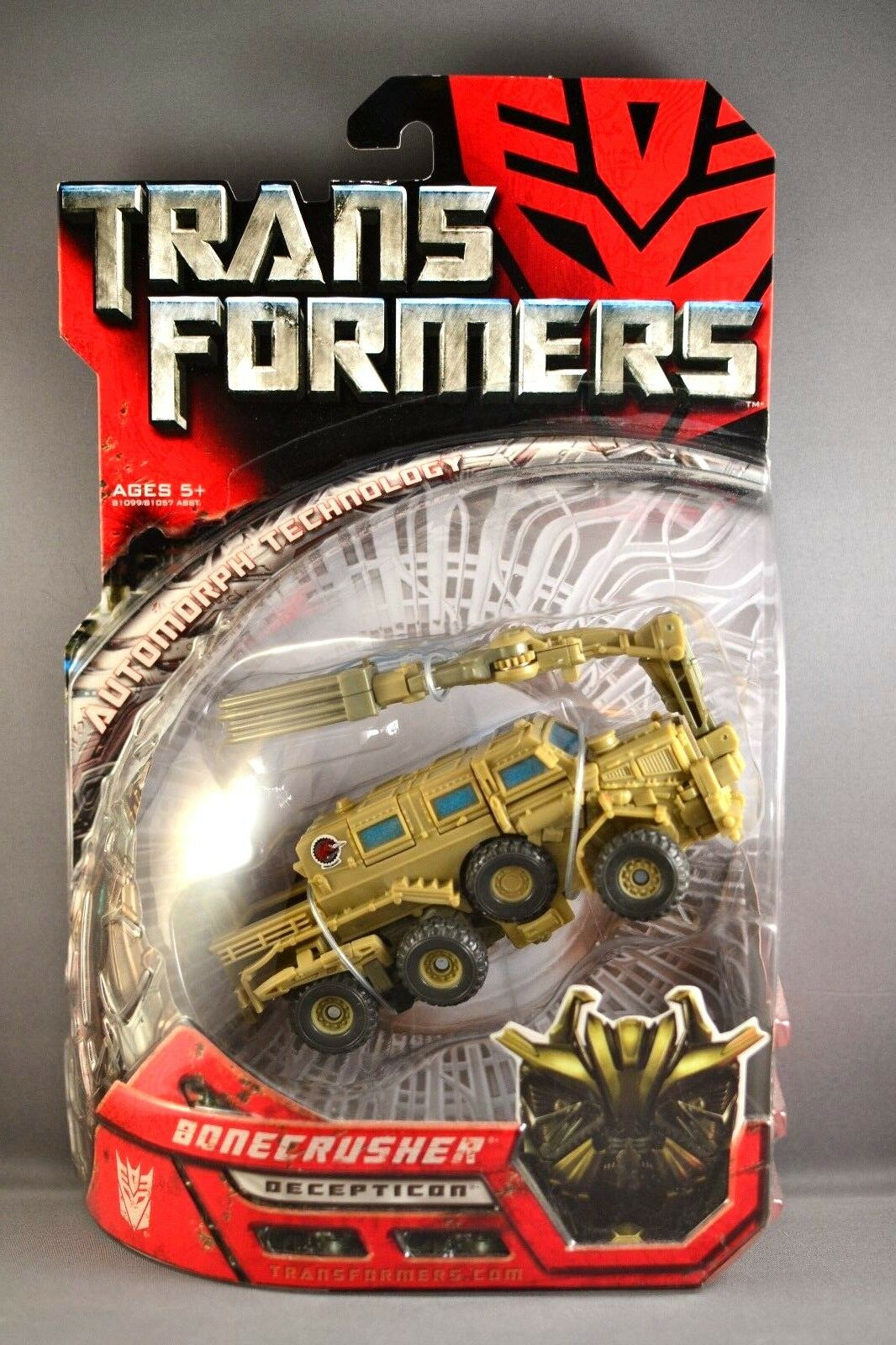 Hasbro Transformers Movie Deluxe Bonecrusher Action Figure 2007 BRAND NEW SEALED