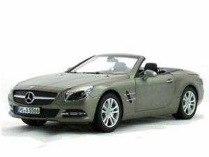 MB Mercedes Benz SL - 2012 - Grey matt - Norev 1:18