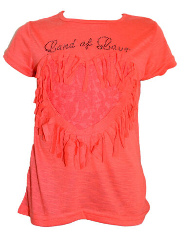 Bambini T-Shirt Ragazza Maglietta kutzarm Estate Top//lf-2168 SALE!!!