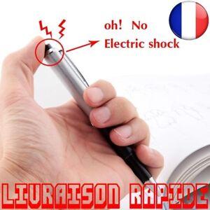 Stylo-A-Bille-Choquant-Cadeau-Jouet-Choc-Electrique-Blague-Trick-Fun-Ami-Humour