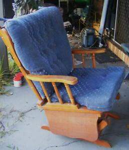 Details About Rocking Chair Wooden Colonial Needs Work P U Morayfield Caboolture Diy Project